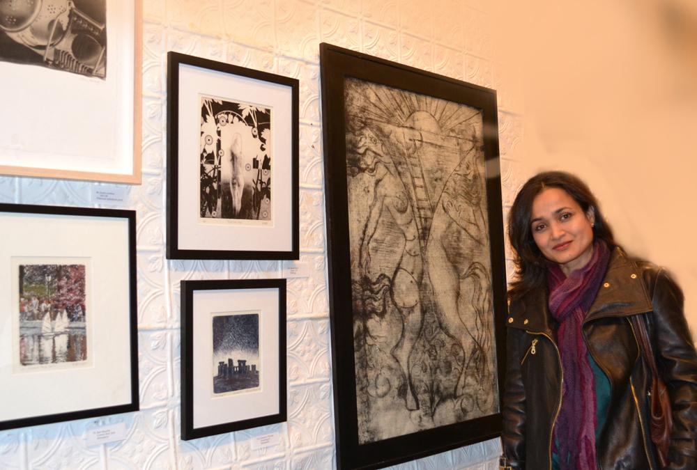 Eching, Self at Mehu in NYC