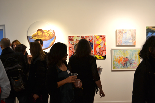 Immersed at Prince Street Gallery, NYC, 2014