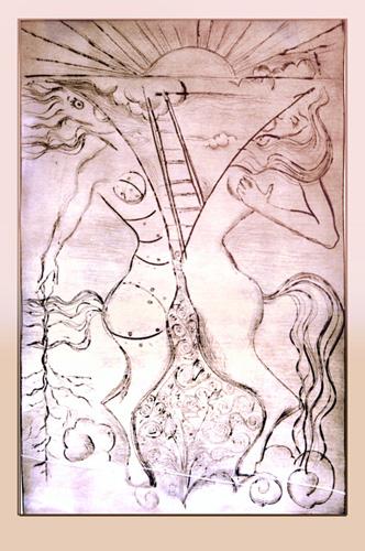 etching, Self