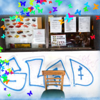 Glad, digital composition