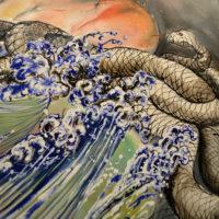 Shiva, Oil on canvas
