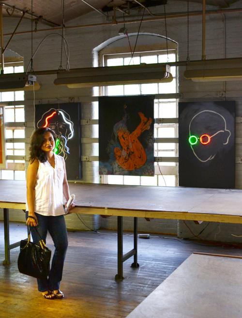 Neon Portrait @ Art Factory, NJ