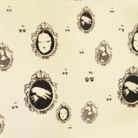 silk screen, wall paper