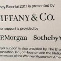 Whitney Biennial 2017 by Tania Sen