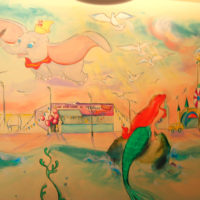 Coney Island Nathan's, Mural at Somerset Hills YMCA