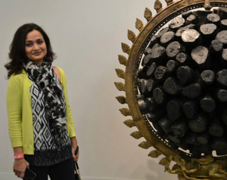 L. N. Tallur's work at the Armory Art Fair 2014