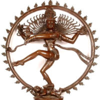 The ubiquitous image of Natraaj, the cosmic dance of Shiva