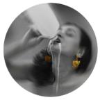 Thirst, performance art by Tania Sen