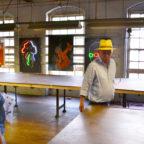Neon Portraits at Art Factory, Patterson NJ by Tania Sen