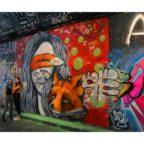 Trusting, photograph taken at Graffiti Tunnel, west London